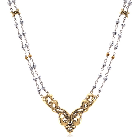 eSBe by Sara Blaine Jewelry - eSBe - #10848 Allemande Double-Stranded Necklace